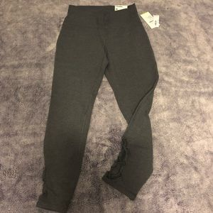 Charcoal Gray 7/8 Ankle Length Leggings - Size M